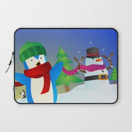 Snowy Pals Laptop Sleeve