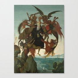 Michelangelo Buonarroti / The Torment of Saint Anthony / Canvas Print