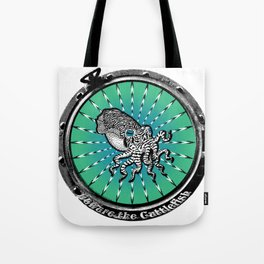 Cuttlefish Hypnosis Tote Bag