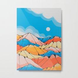 The spring hill peaks Metal Print