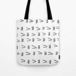 Gray Arrow Tote Bag