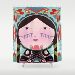 Inuit Shower Curtain