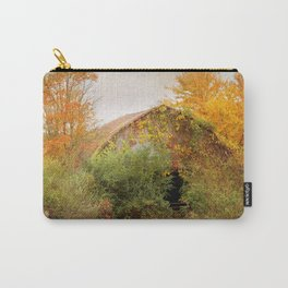 Autumn Covered Barn - 4 Carry-All Pouch