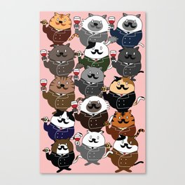 FAT CAT Canvas Print