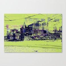 Toronto, Queen and Spadina Canvas Print