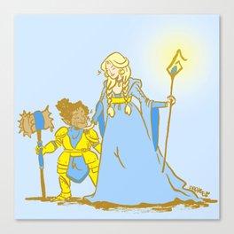 Magic Wives Canvas Print