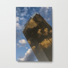 TREASON TOWER Metal Print