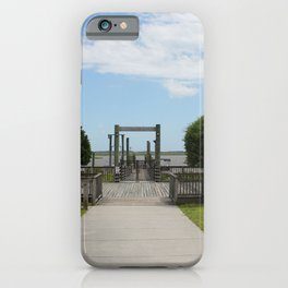 Ferry Dock To Bear Island iPhone Case