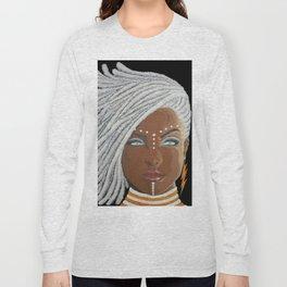 African Goddess Long Sleeve T-shirt