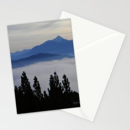 Another foggy morning in the mountains... Stationery Cards