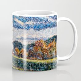 Evening Shadows Coffee Mug