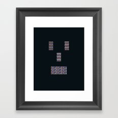 Mister Roboto Framed Art Print