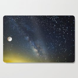 Milky Way bokeh Cutting Board