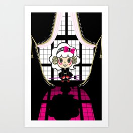 Angelamb's Window Art Print
