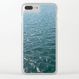 diamonds on the bay Clear iPhone Case