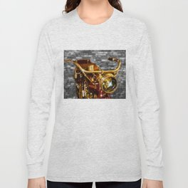 Old Motorcycle Long Sleeve T-shirt