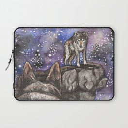 The Silent Howl Laptop Sleeve