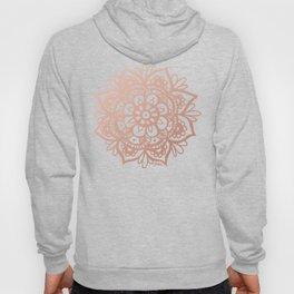 Rose Gold Mandala Hoody
