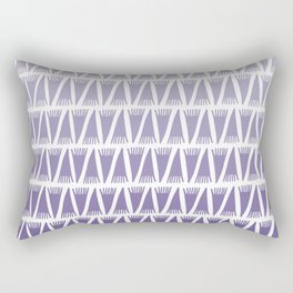 Tee Pee Gradient Ultra Violet Rectangular Pillow