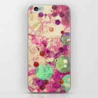 bubblegum iPhone & iPod Skins featuring Bubblegum by SensualPatterns
