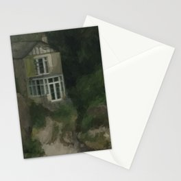 Abandoned on the Beach - Spooky Cottage Stationery Cards