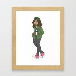 Kamala Khan EveryDay Framed Art Print