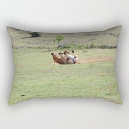 Rolling Horse Rectangular Pillow