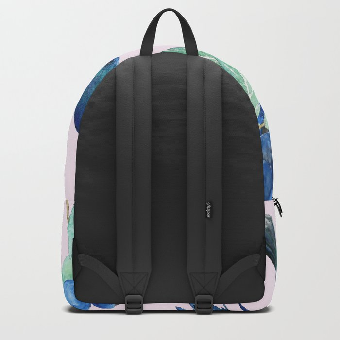 blueberry and humming bird Backpack