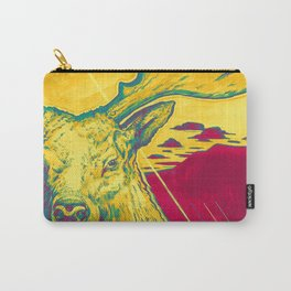 Stag Dimension of Yellow Carry-All Pouch