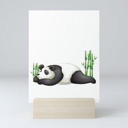 Adorable Nope Not Today Lazy Panda Mini Art Print