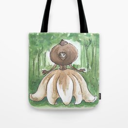 Empire of Mushrooms: Geastrum minimum Tote Bag