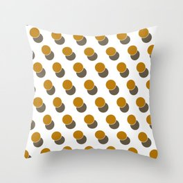 Ginger Dot Spot Geometric Print Throw Pillow