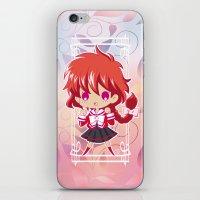 chibi iPhone & iPod Skins featuring Chibi Hikaru by Neo Crystal Tokyo