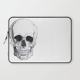 Skull by Carla Marroquín Laptop Sleeve