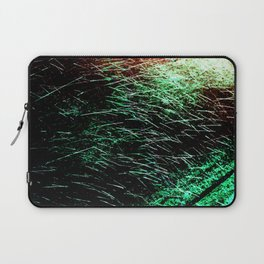 Abstract Water Spray Laptop Sleeve