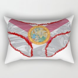 Florida Flag Knickers Rectangular Pillow