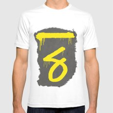 No. 7. Dead Man Mens Fitted Tee White MEDIUM