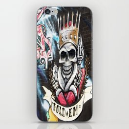 Las Vegas Skull Graffiti iPhone Skin