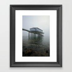 Roa Island Lifeboat Station Framed Art Print