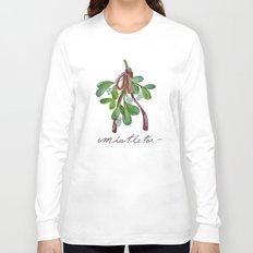 Under  the Mistletoe botanical  Long Sleeve T-shirt