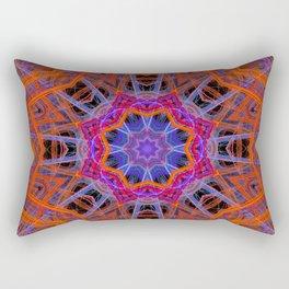 Orange Star Rectangular Pillow