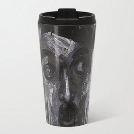 Portrait of Charles Chaplin Travel Mug