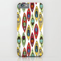 I Heart Kayaks Pattern Slim Case iPhone 6s