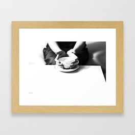 tea with audrey Framed Art Print