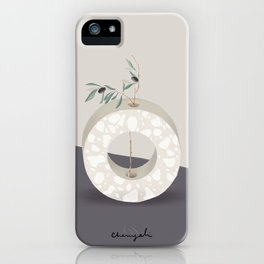 Vase O Olive iPhone Case
