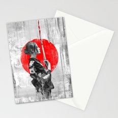 Samurai Girl Stationery Cards