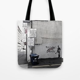 Dreams Cancelled Tote Bag
