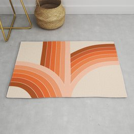 Red Rock Bounce Rug
