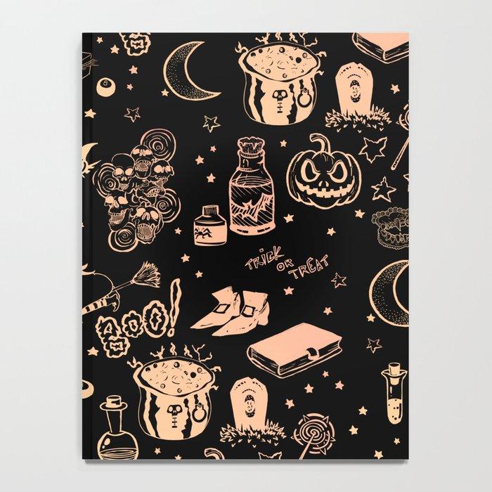 Halloween Print Notebook