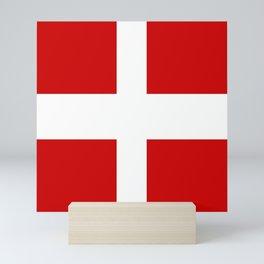 Flag of Savoie Mini Art Print
